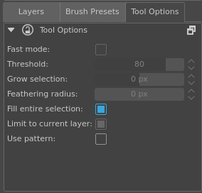 Limit to current layer