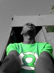 I'd make an awesome Green Lantern