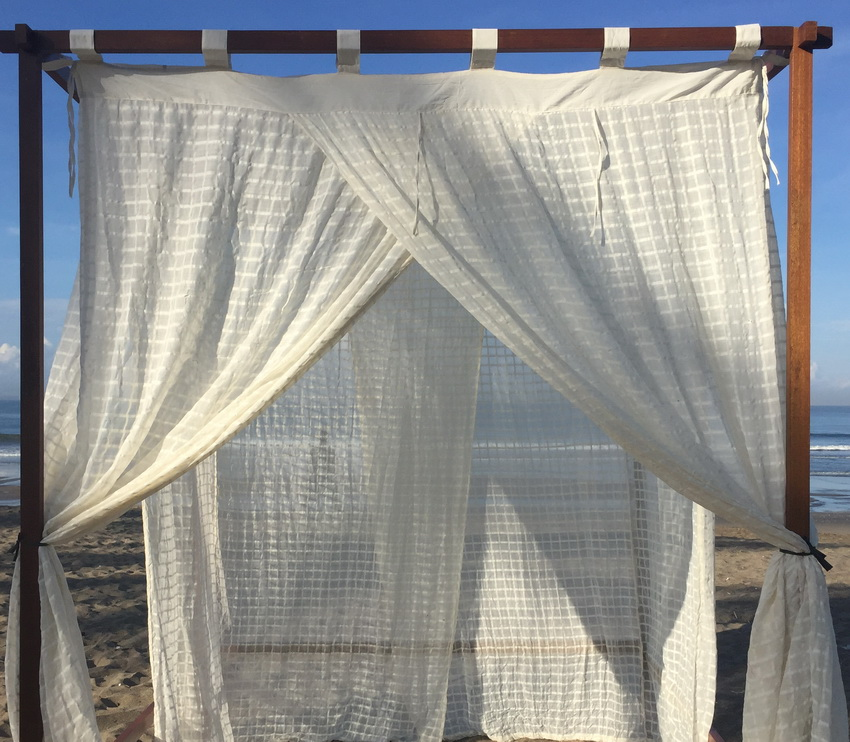Rayon Rectangular Mosquito Net without middle layer King