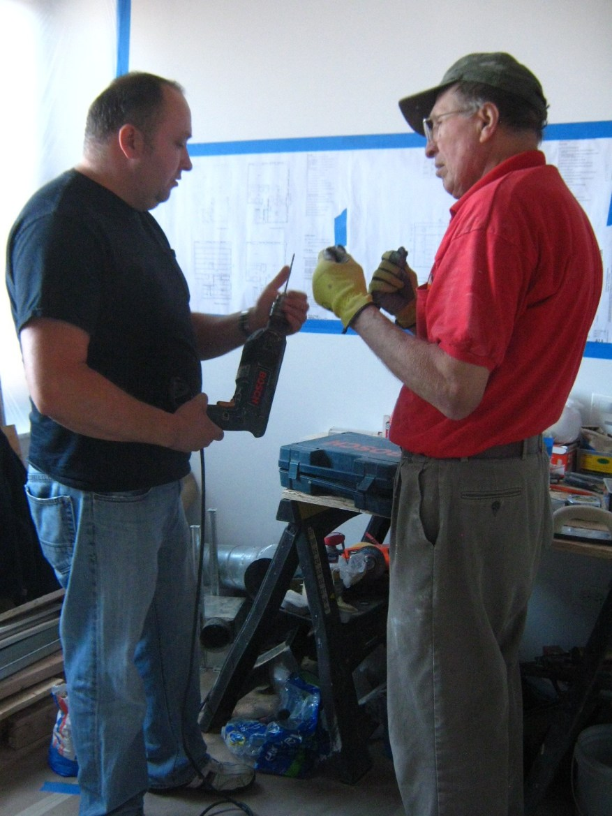 Steve and Toto talk about the drill