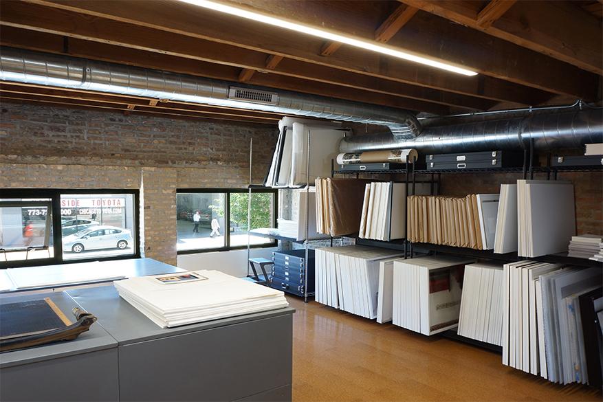 photography studio work space