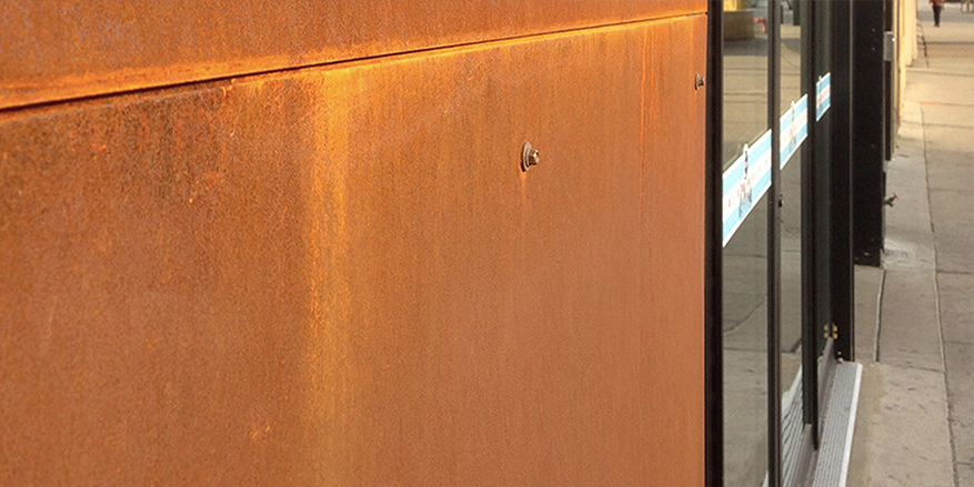 Building Materials: Corten or Weathering Steel