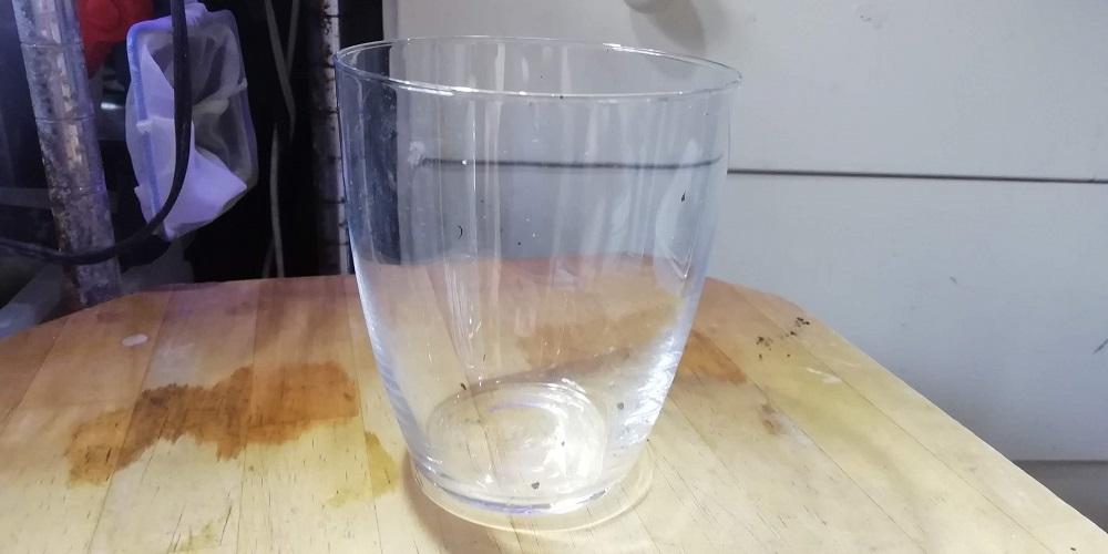 100均の大きめグラス