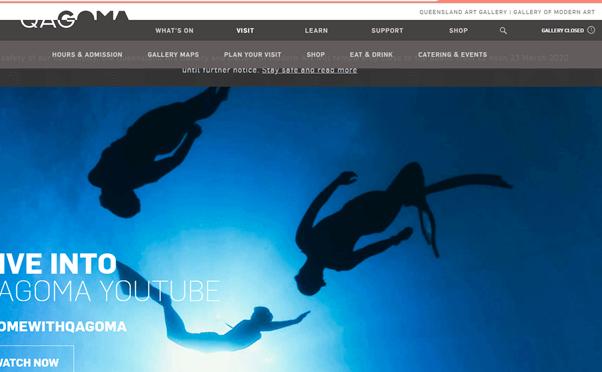 Queensland Art Gallery page