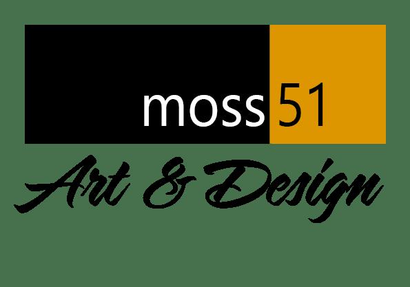 Moss51 Art & Design logo