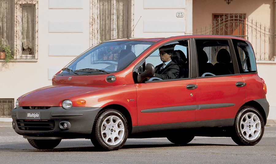 Ugliest cars ever - Fiat Multipla