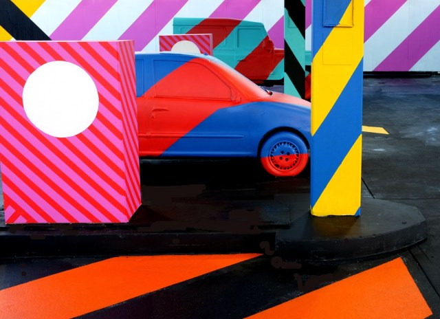 """No.27 - A nod to Ed Ruscha"" New Street Installation By Irish Artist Maser in Limerick City. 3"