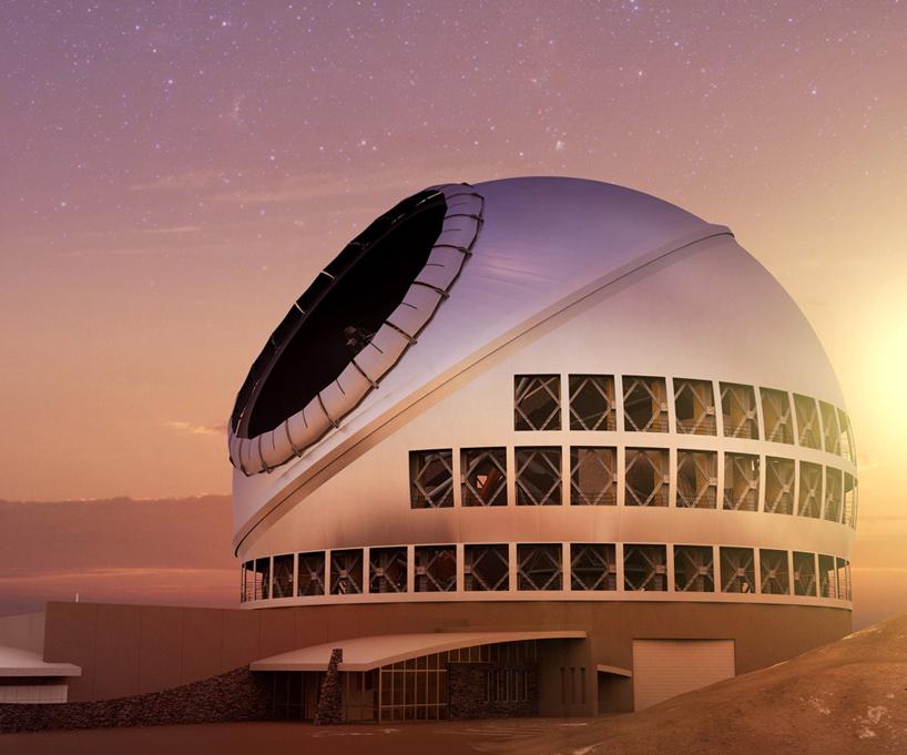 thirty-meter-telescope-TMT-designboom-03