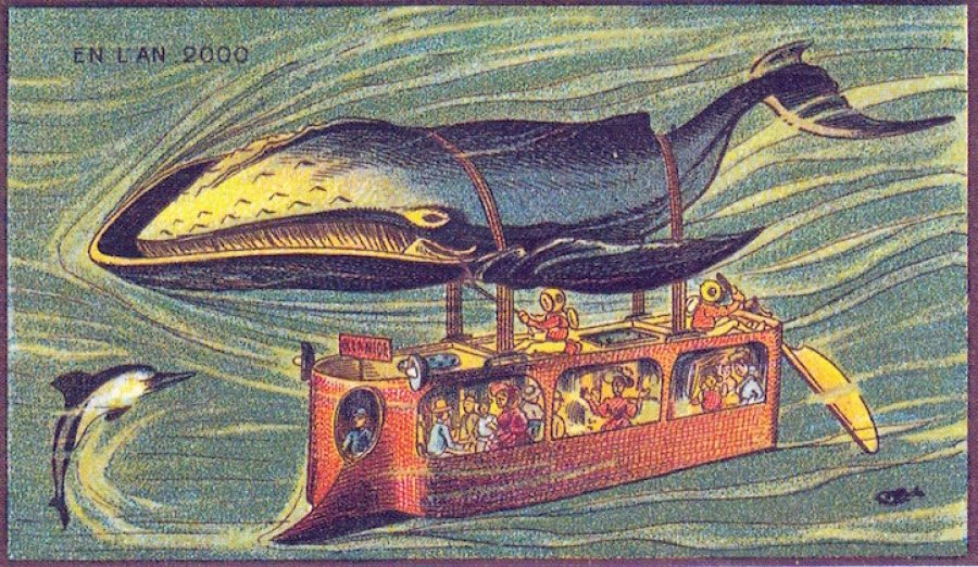 retro future whale bus