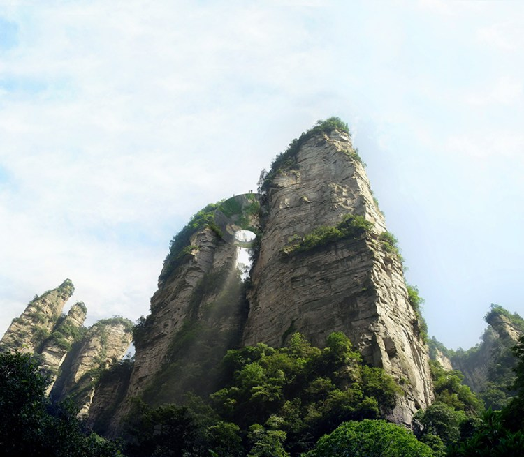 martin-duplantier-architectes-zhangjiajie-pavilions-lookout-china-moss-and-fog-4