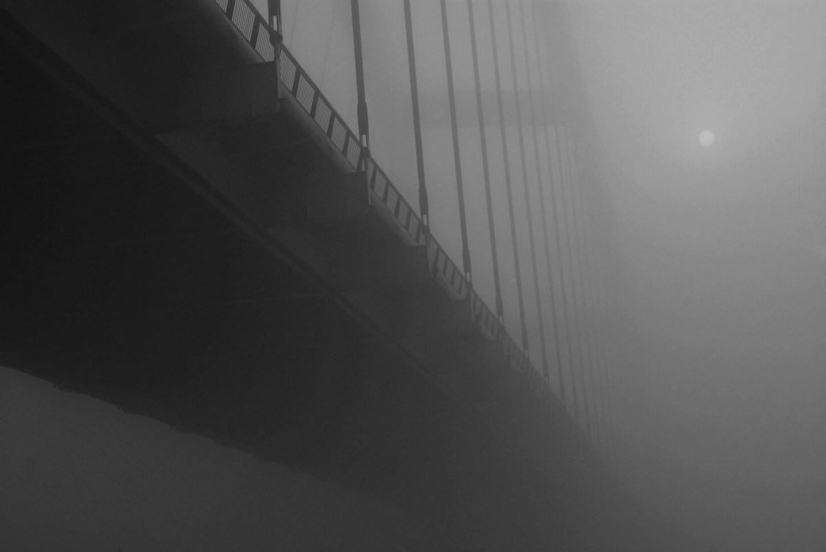 Bridge in the Fog // Moss and Fog