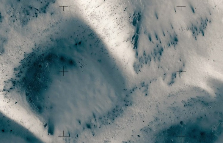 Mars imagery taken by NASA HiRise Cameras