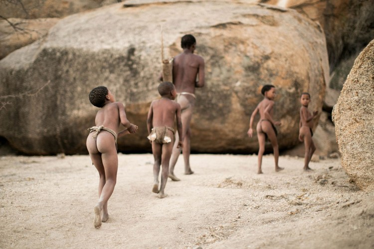 tribespeople of Namibia