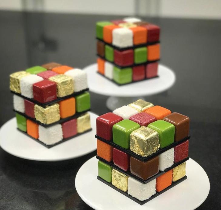 rubix cake