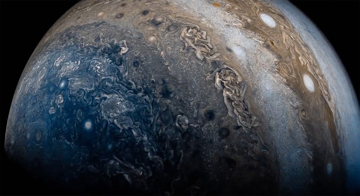 Jupiter in Motion