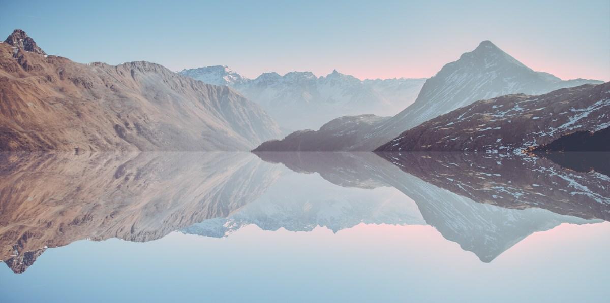 Switzerland Horizon Moss and Fog 7