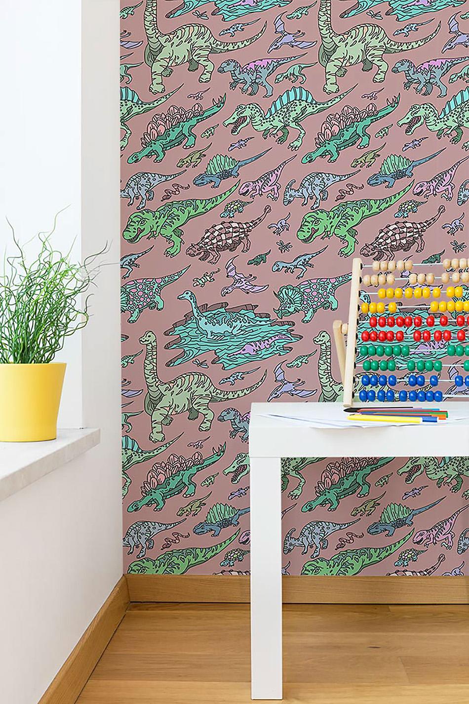 dinosaur coloring paper