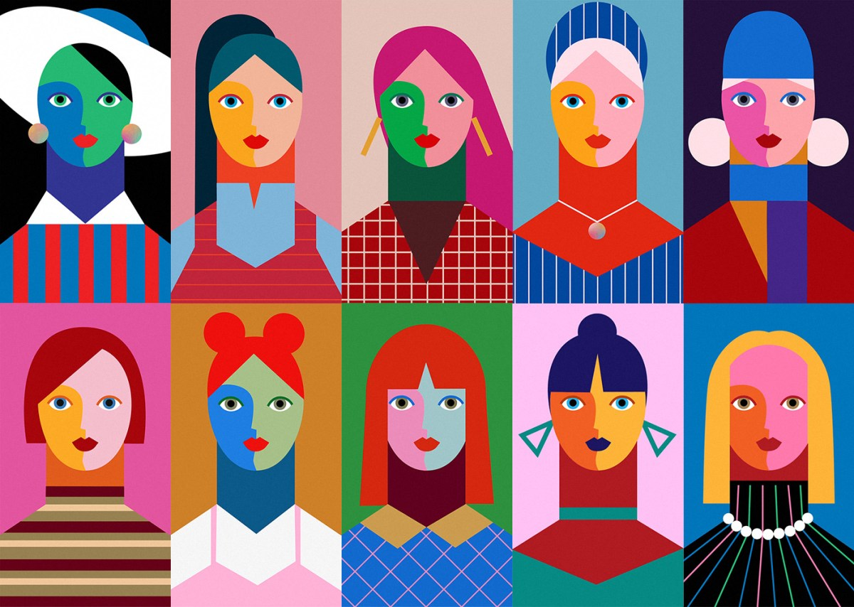 Minji Moon's Vibrant Animated Faces