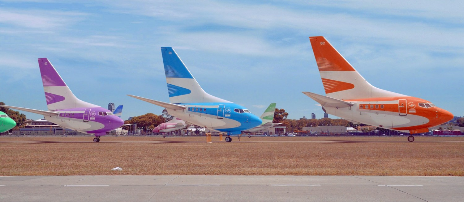 strange and hilarious shrunken planes