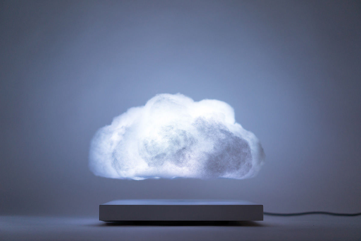 Levitating Cloud For Your Home