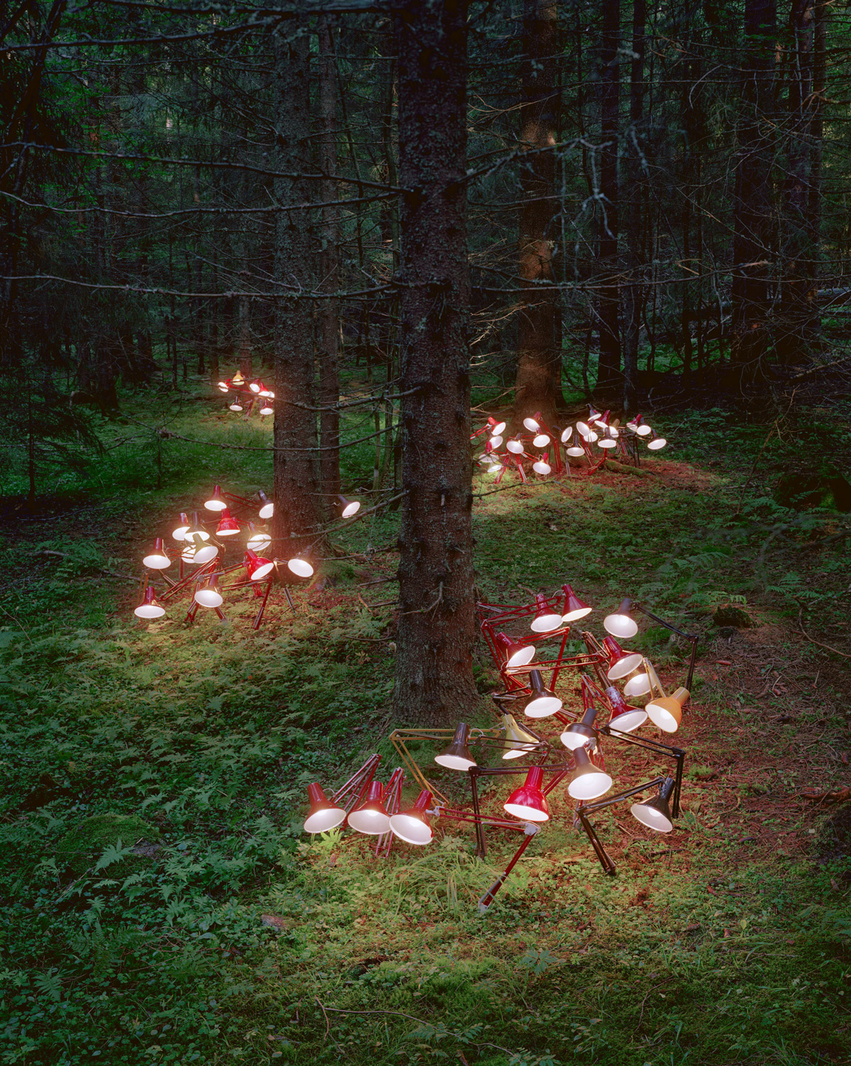 Wonderful surrealist art installations by Rune Guneriussen in his native Norway.