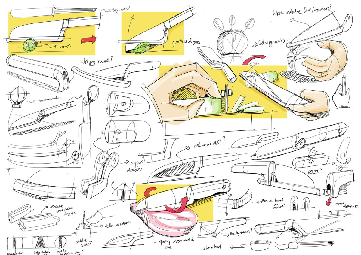 cooking tools for the blind // moss and fog