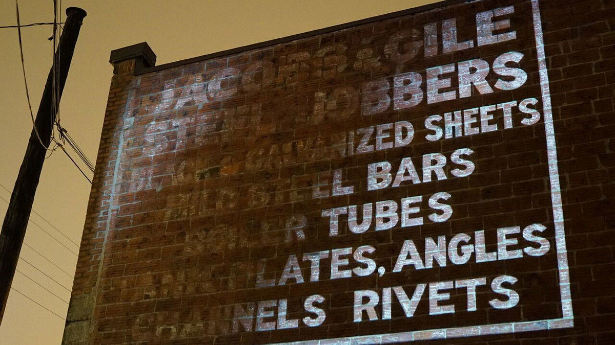 ghost signs // moss and fog