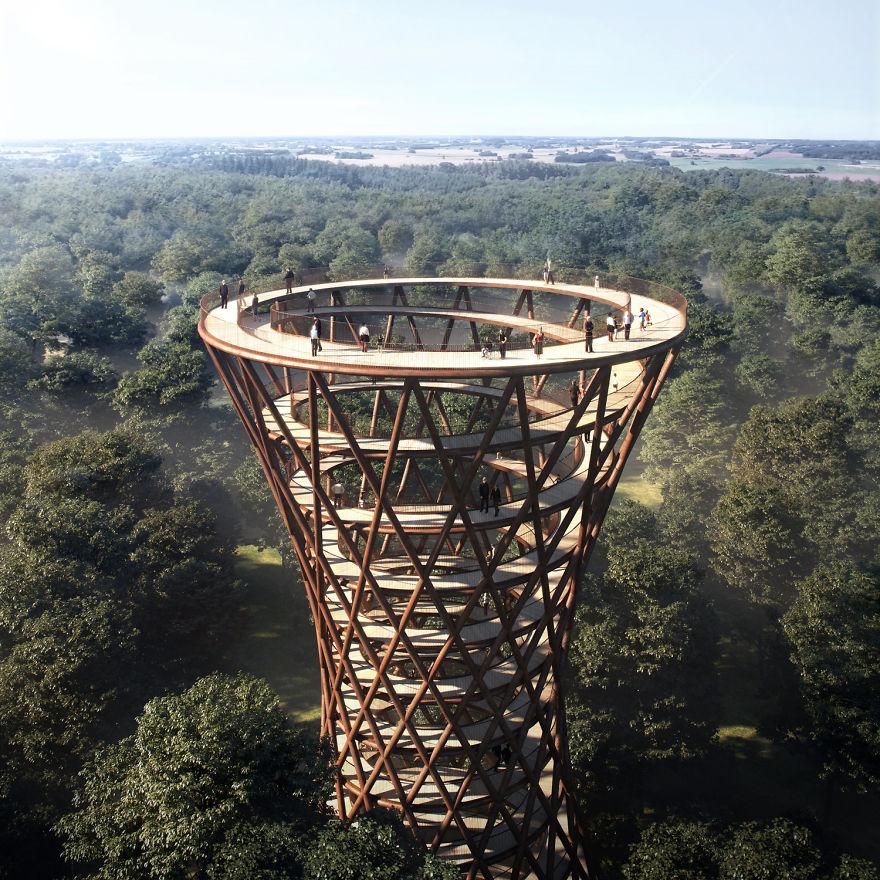 spiraling-treetop-walkway-effekt-denmark-moss and fog 3
