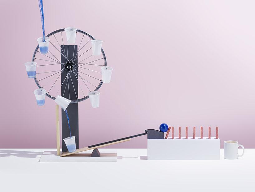 Rube Goldberg Pink