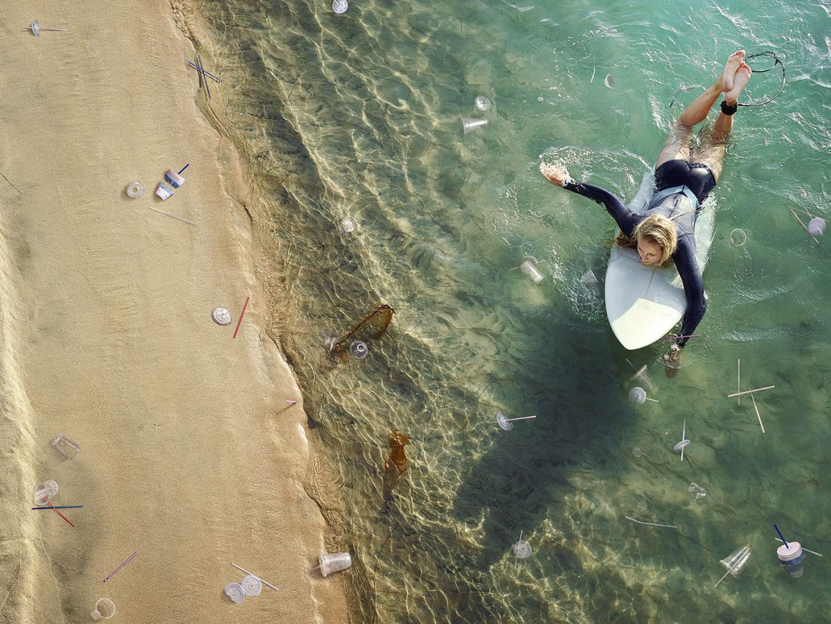 Plastic Surf Shows Oceans Strewn with Trash