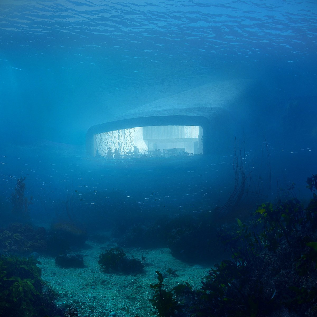'Under', Europe's First Underwater Restaurant