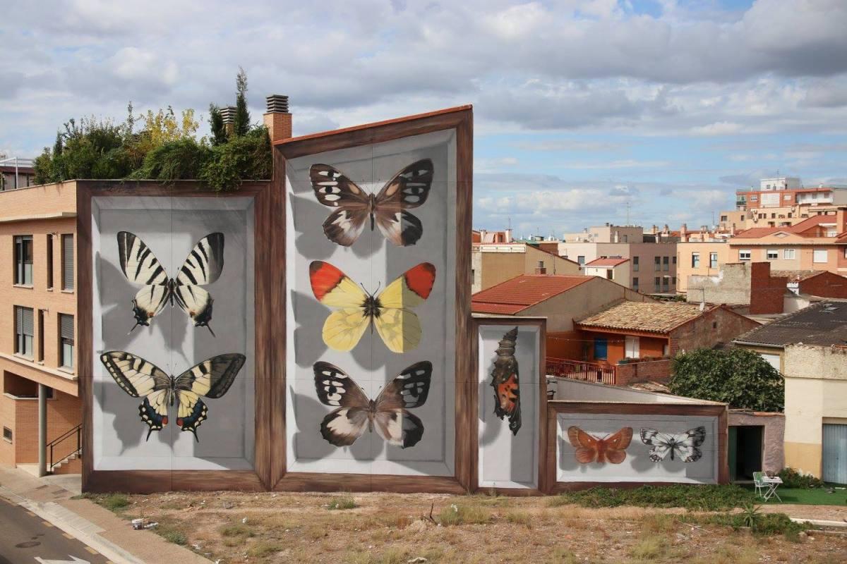 butterfly murals moss and fog 1