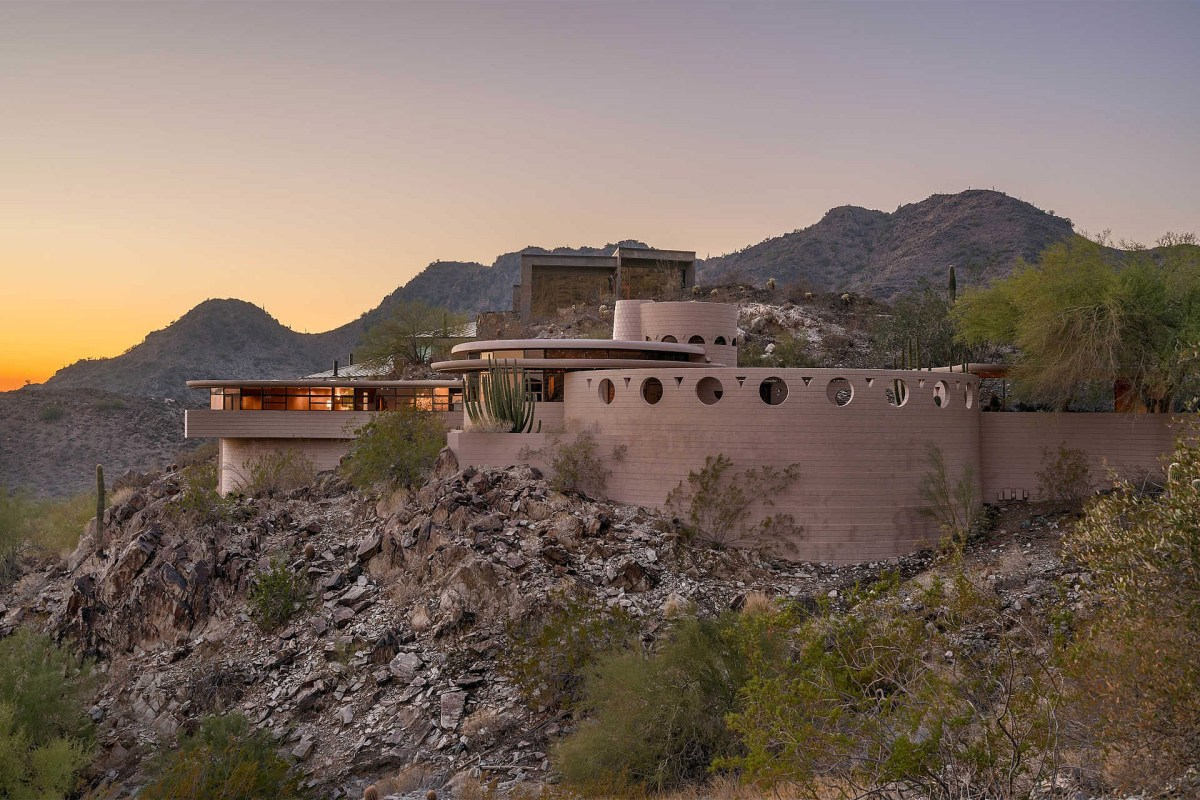 Frank Lloyd Wright's Palm Canyon House