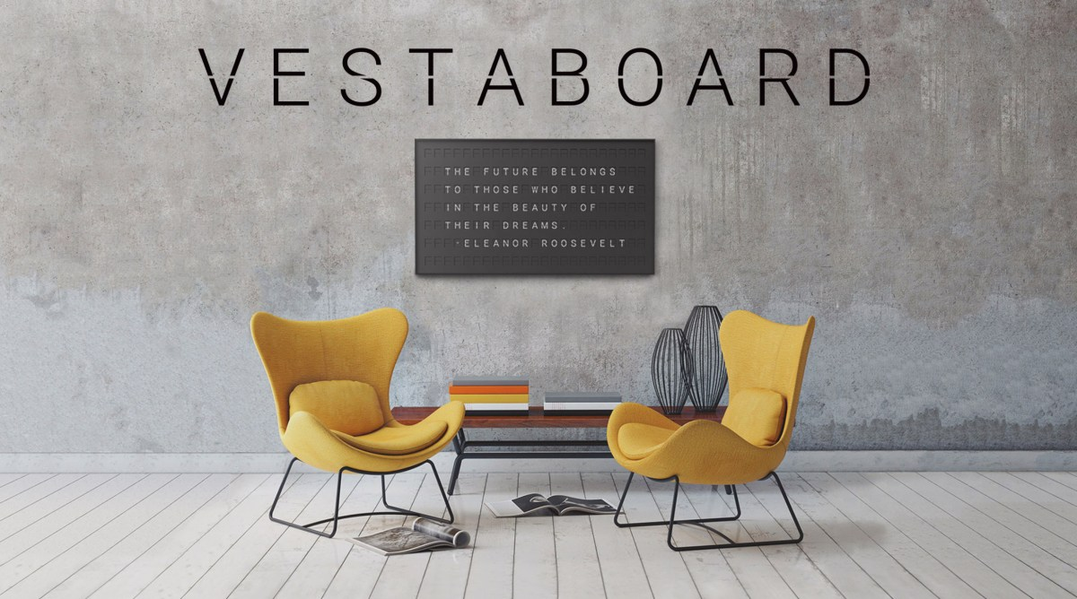 Vestaboard Brings the Past Into the Future