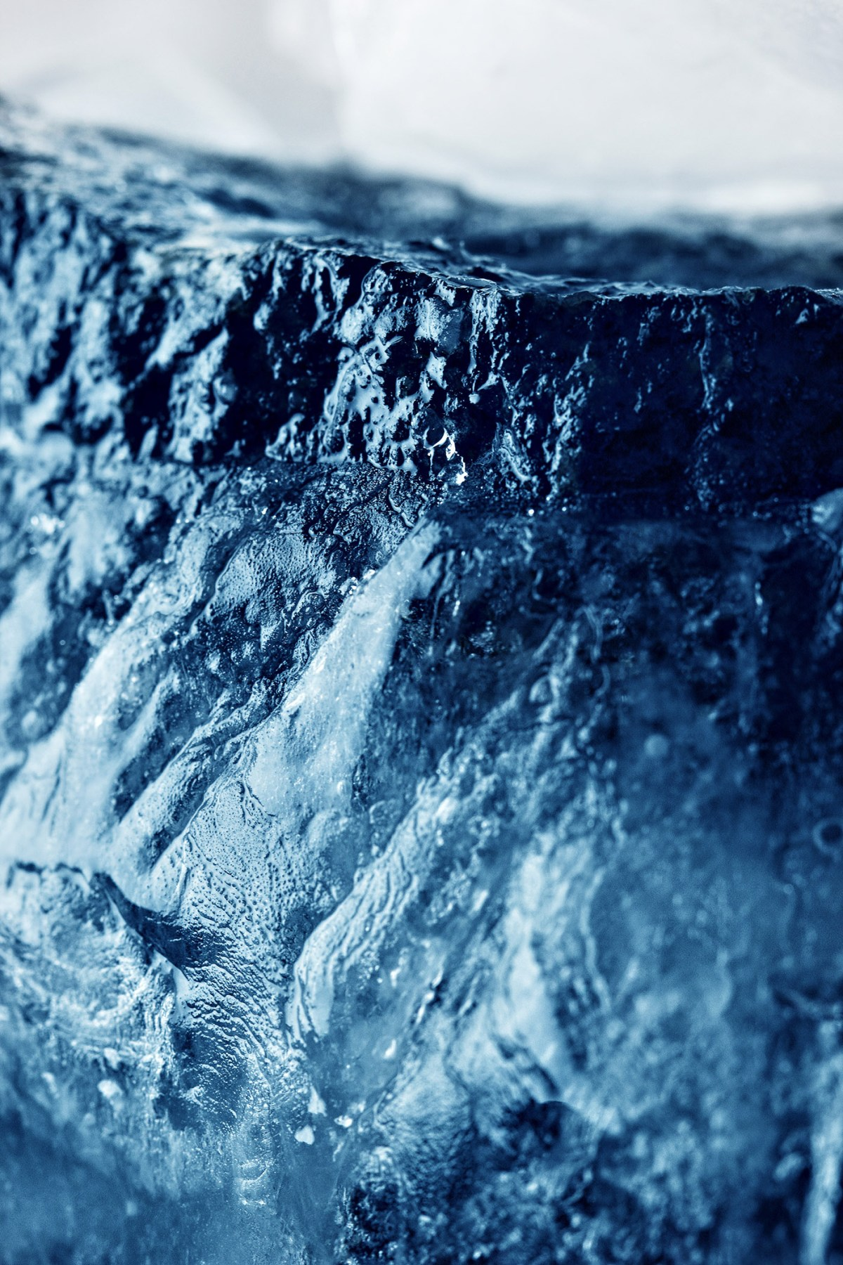 Frosted stone.ice texture.Old ice closeup shot.nature textures