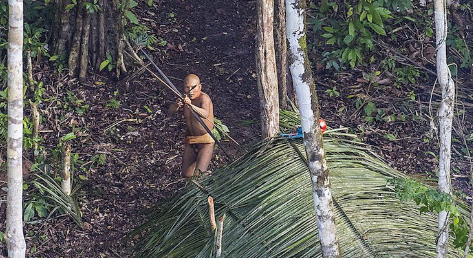 Rare View of Uncontacted Tribes in Brazil