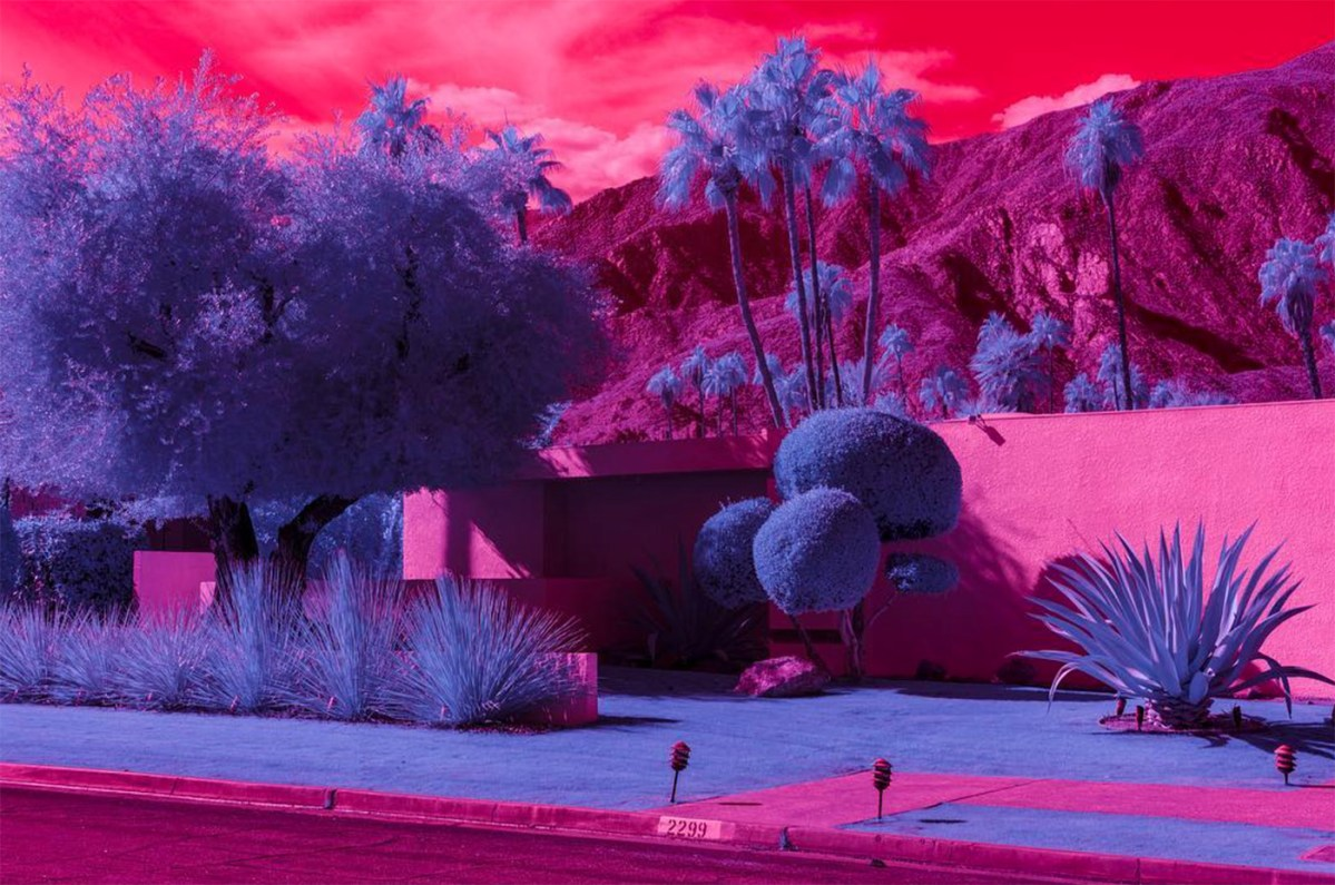 California Goes Surreal in These Infrared Images