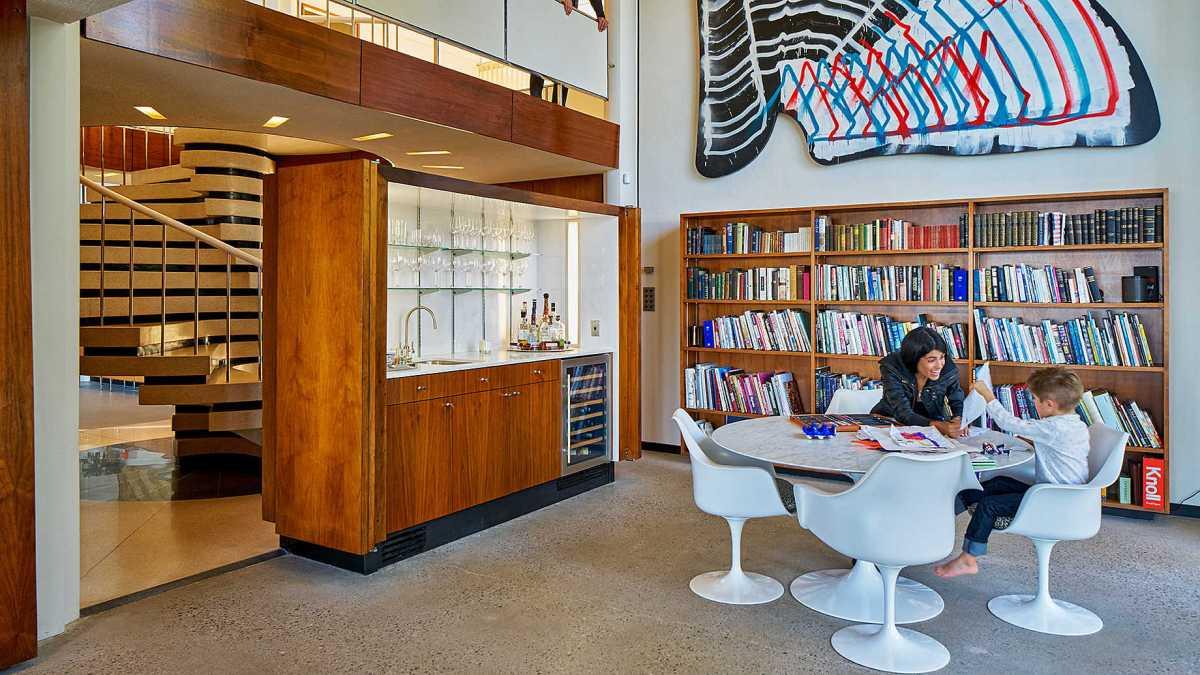 Hawkins Ferry library