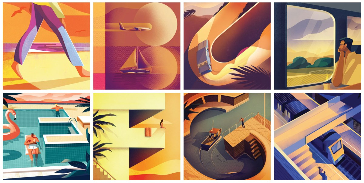 A Beautifully Creative Scene Alphabet By Charlie Davis