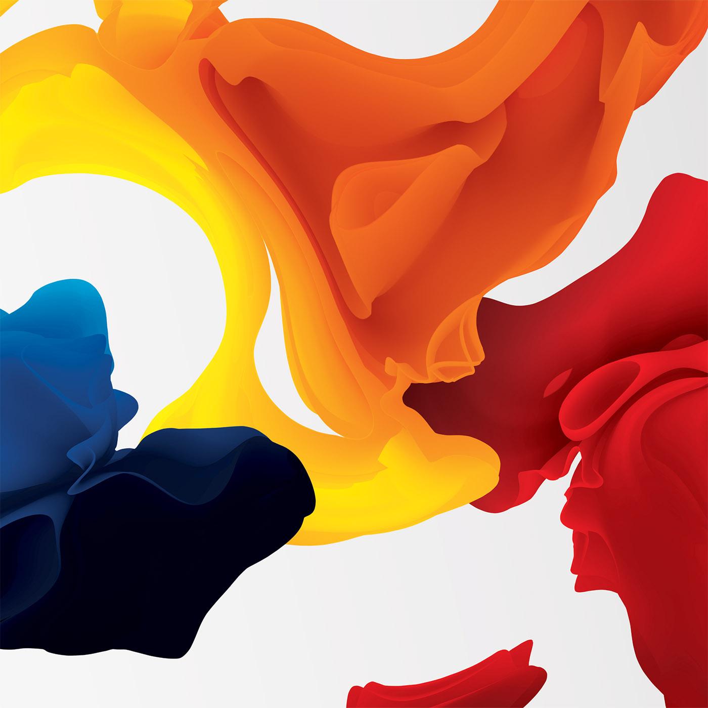 fluid colors by MariaGrønlund
