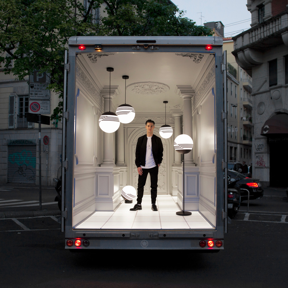 Delivery Van Light Installation