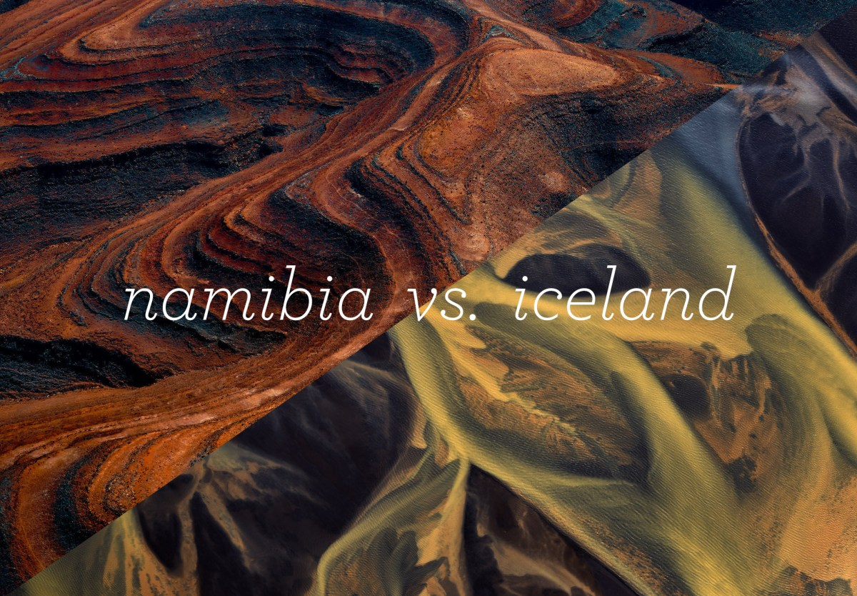Namibia Vs. Iceland - Battle of Beautiful Landscapes