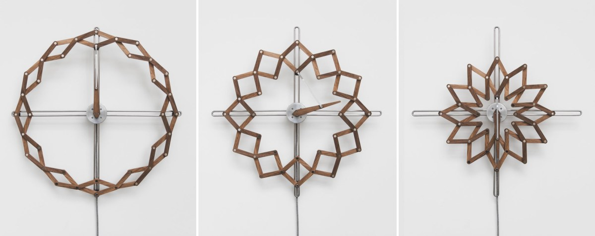 Elegant Kinetic Clock