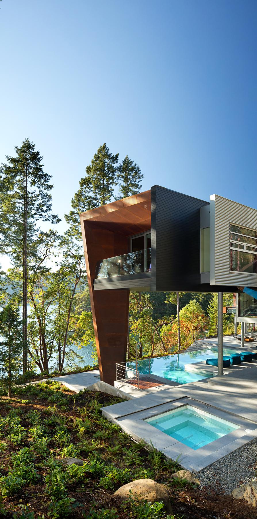 Gulf+Islands+Vancouver+lake+house