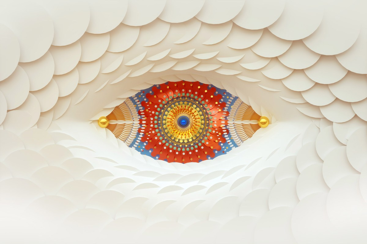 cosmic vision eye design