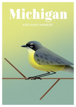 Endangered Animals Moss and Fog Michigan