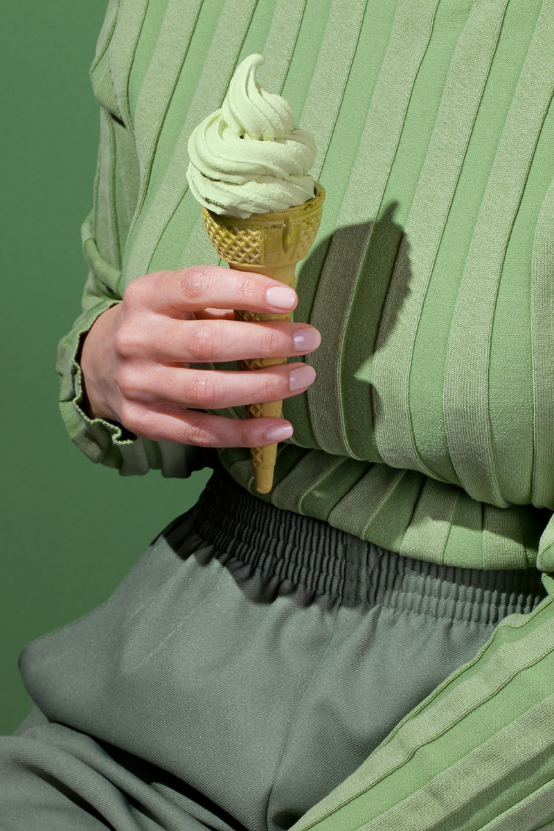 Fashion Meets Food in Color Coded Series