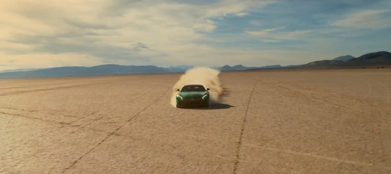 blind driver on Oregon's Alvord Desert