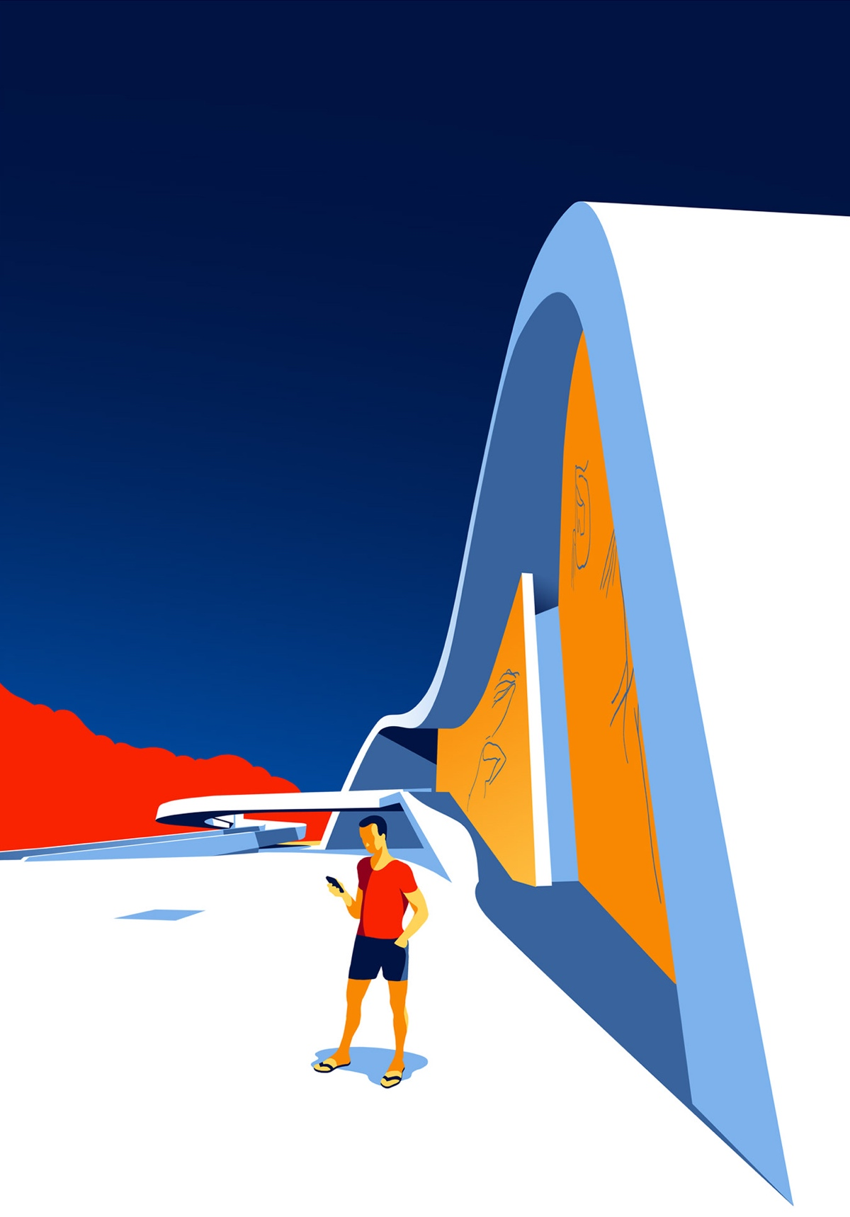 oscar-niemeyer-architecture-illustrations-levente-szabo-10