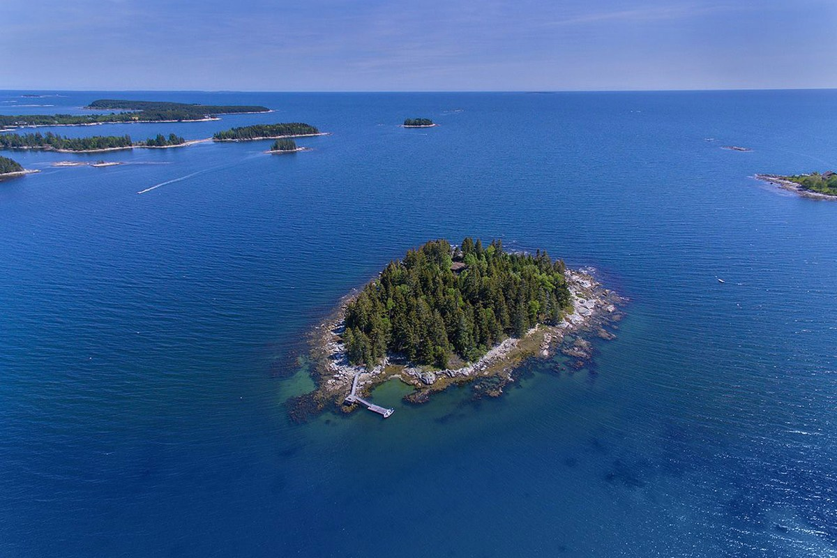 Own Your Own Scenic Island Off of Maine